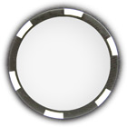 Poker chip black
