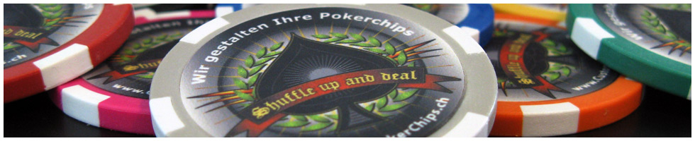 Custom Poker Chips Header: Aufbau der Pokerchips